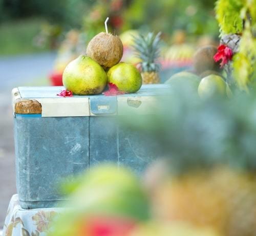 fruits locaux a vendre