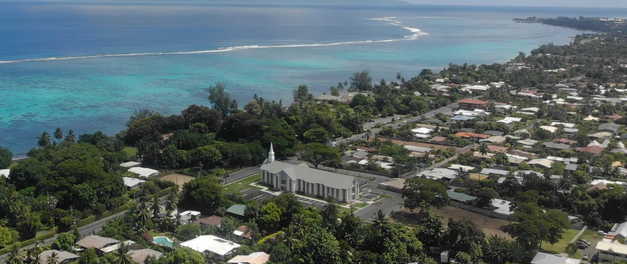 Tahiti - punauia vue du ciel