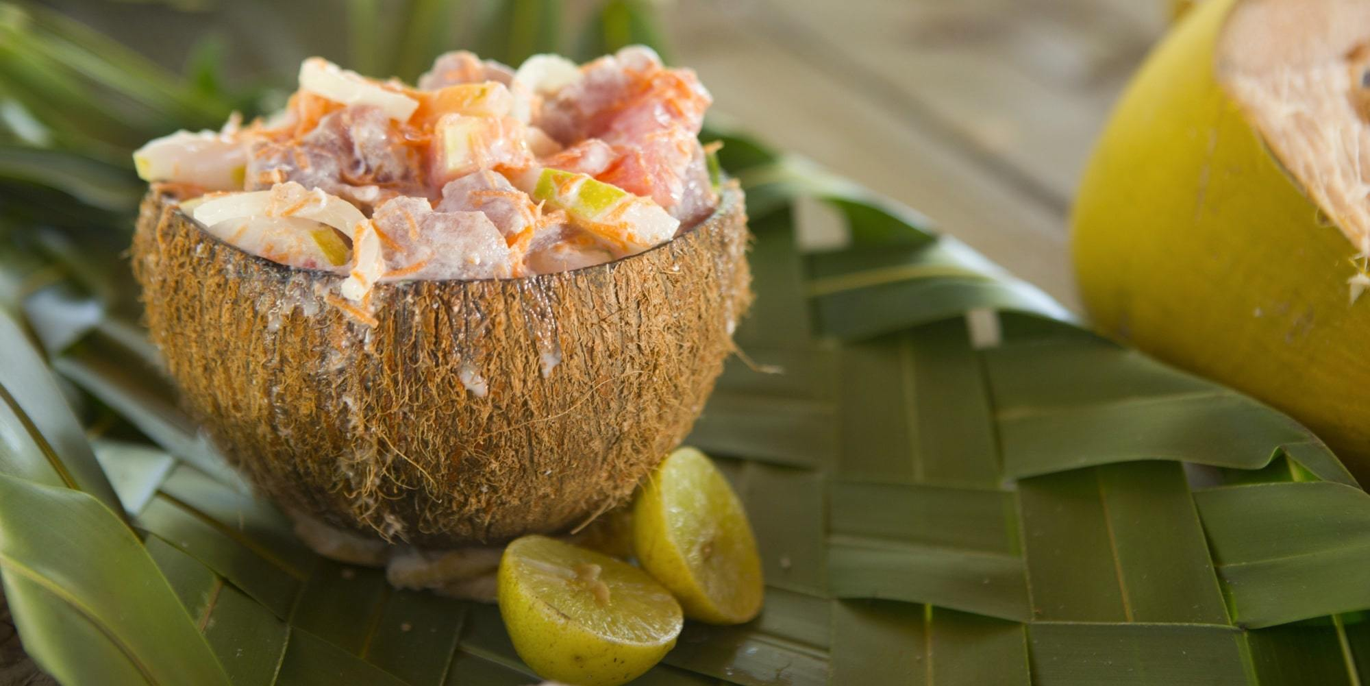 Polynesian Cooking lesson